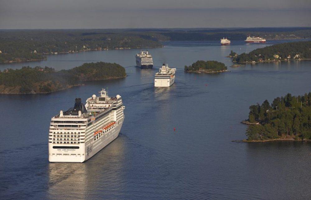 Besoksrekord i stockholms hamn