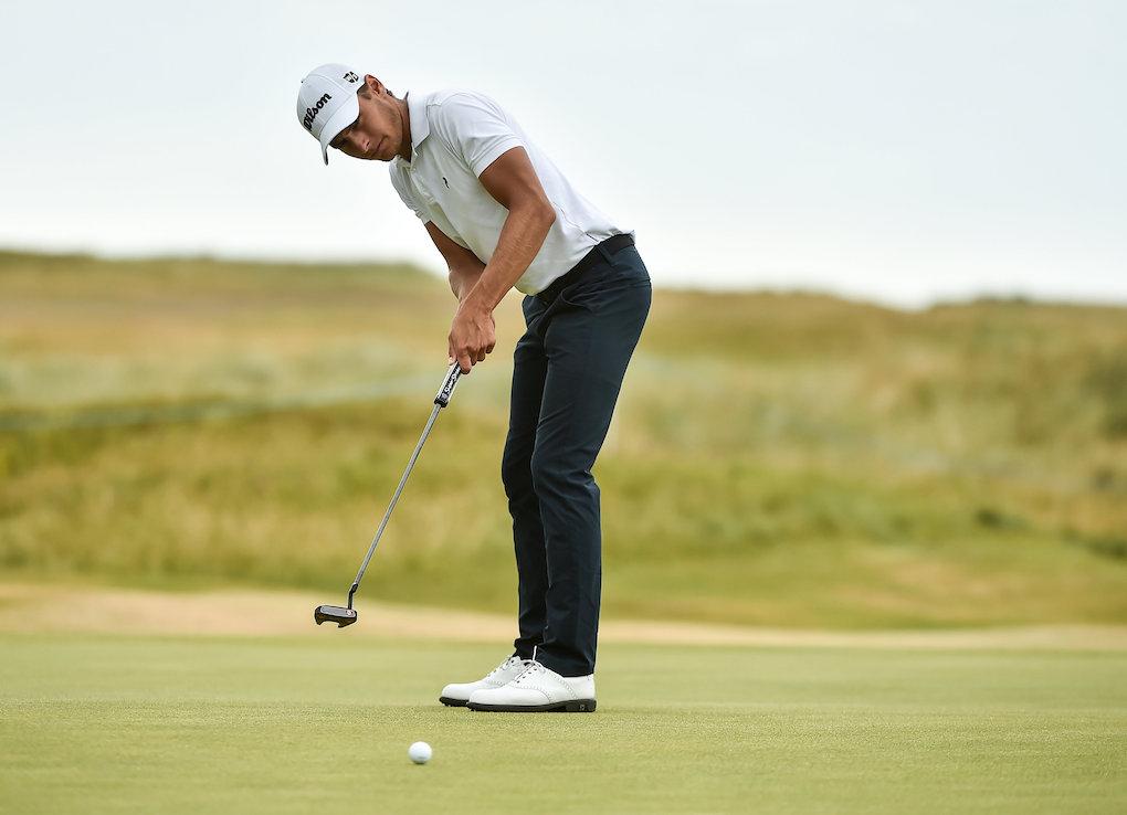 Golf tre svenskar jagar seger