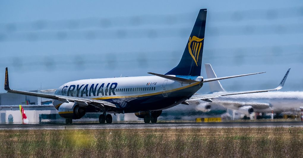 Piloterna flyr ryanair bantar flygplansflottan