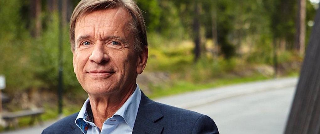 Volvos vd drabbades av stroke