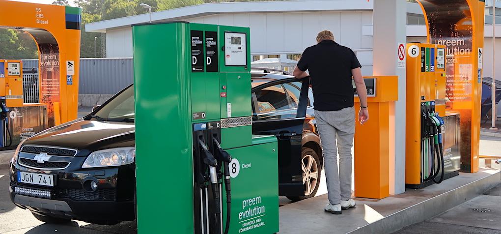 Arslagsta for bensinen 1