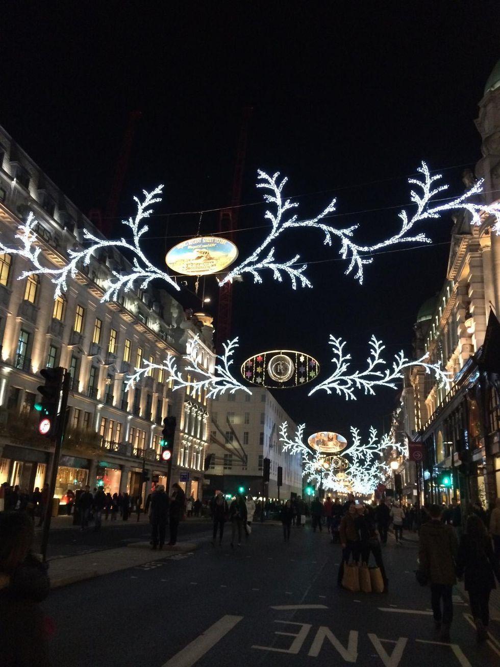 Hela varlden ryms i london
