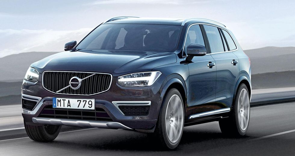 Volvo xc 90 lanseras utan bilder