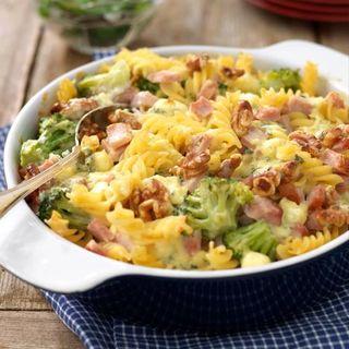Kassler och broccoli i fin form