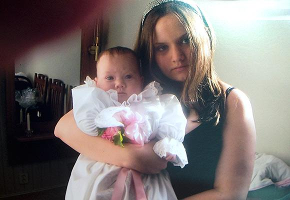 Mor och dotter var gravida samtidigt