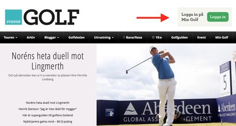 Svensk Golf Login