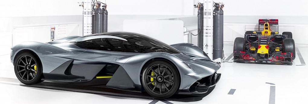 Aston martin bygger 1 000 hastars elbil