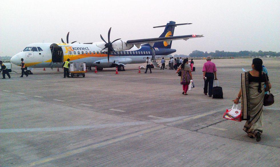 Flygkatastrof utanfor karachi