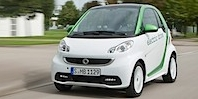 Nya Smart Fortwo Electric blir snabbare