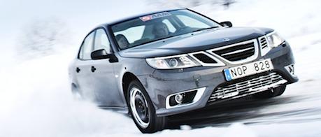 eAAM e-AWD Trollhättan AAM American Axle testdrive article Saab 9-3
