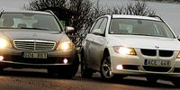 TEST: BMW 320d mot Mercedes C 220 CDI