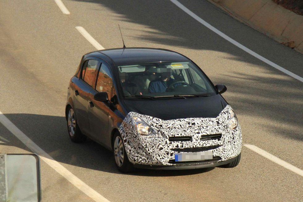 Opel Adam Corsa facelift