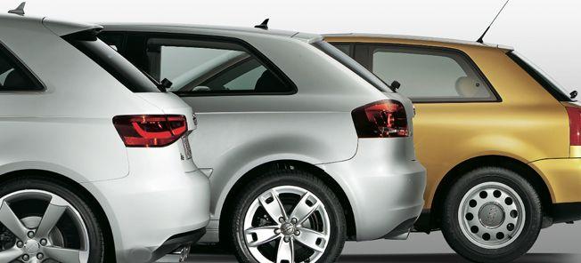 PROV: Audi A3 i tre generationer