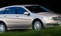 BEG: Lyxbussen Mercedes R-klass