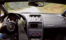 Film: Rally med Lamborghini Gallardo