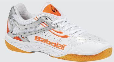 premium selection 2c4d0 59168 Nu i höst lanserades Babolats nya toppsko för badminton - Shadow. Skon  finns både för herrar och damer och på bilden syns dammodellen.