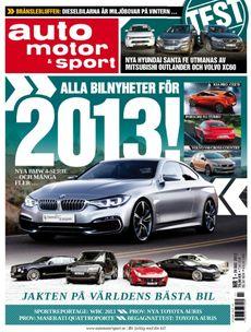 1/2013: Tre populära suvar - Världens bästa bil