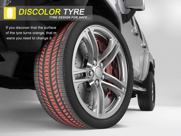 """""""Discolor Tyre"""""""