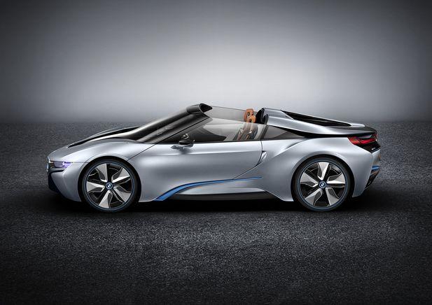 BMW i8 Concept Spyder premiärvisas i Beijing - Bild 525233