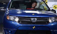 Dacia hämtar sig – nästan – i Euro NCAP