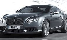 Bentley Continental GT V8 ger 500 hk jämnt