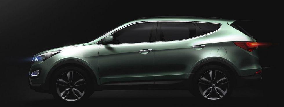 """Tidigare har Hyundai pratat om designspråket """"Fluidic Sculpture"""", men nu är det istället """"Storm Edge"""" som gäller. Det betyder en aggressivare design med bättre aerodynamik."""