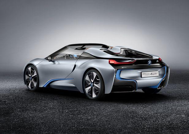 BMW i8 Concept Spyder premiärvisas i Beijing - Bild 525246