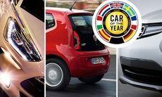 Sju finalister slåss om Årets Bil 2012