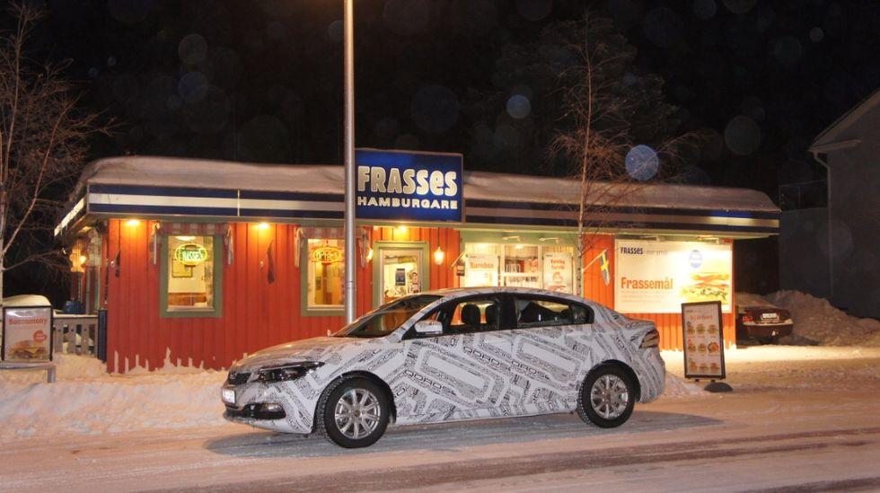 Qoros 3 sedan Frasses