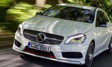 Mercedes fortsätter med framhjulsdrift
