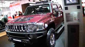 PARIS: Hummer H3 - med V8 och flak!