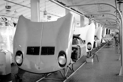 József Erdsi Lamborghini 1969 Sant'Agata Bolognese