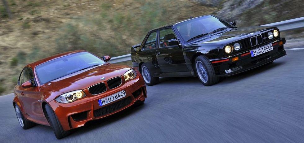 1-serie M Coupé ansågs av många vara den andliga efterföljaren till klassiska M3 E30. BMW erkänner själva att bilen inspirerades av den legendariska modellen från 1980-talet.