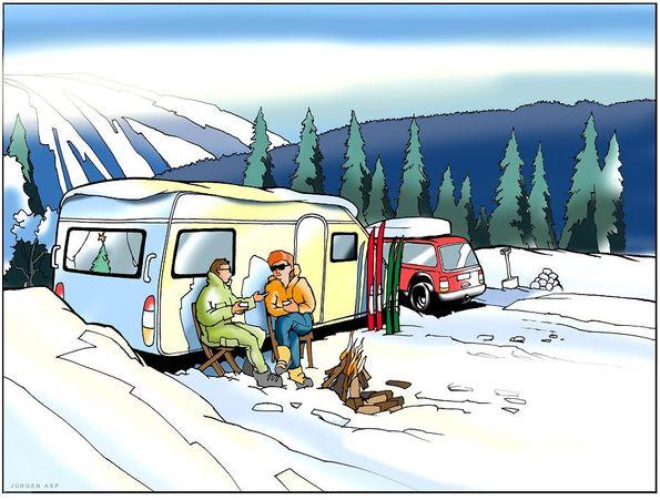 10 frågor & svar om vintercamping