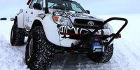 Toyota kör Hilux till Antarktis – med jetbränsle
