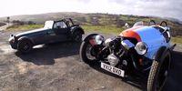 Film: Caterham Seven mot Morgan 3-wheeler