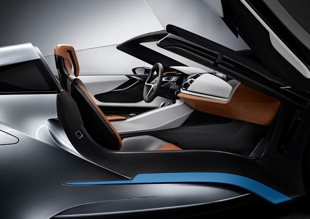 BMW i8 Concept Spyder premiärvisas i Beijing - Bild 525245