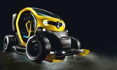 Twizy Renault Sport F1 Concept – en kers-dopad elbil