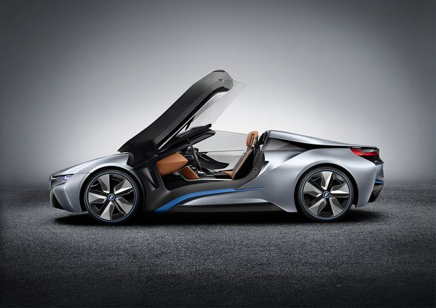 BMW i8 Concept Spyder premiärvisas i Beijing - Bild 525242