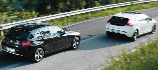 PROV: Volvo V40 mot BMW 1-serie