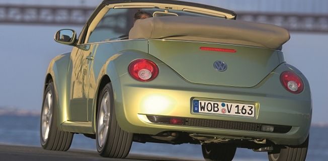 Volkswagen New Beetle Cabriolet 1.8 Turbo (2011-)