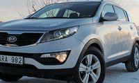 PROV: Kia Sportage 1,6 2WD utan sting