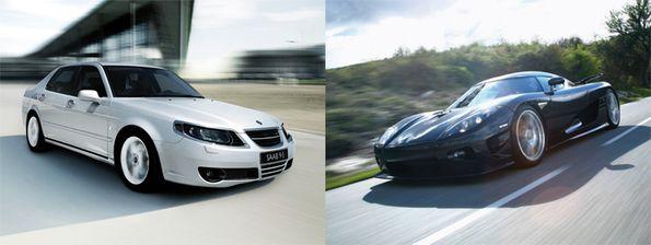 Får Saab nya vingar av Koenigsegg?