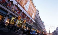 Julshopping i London