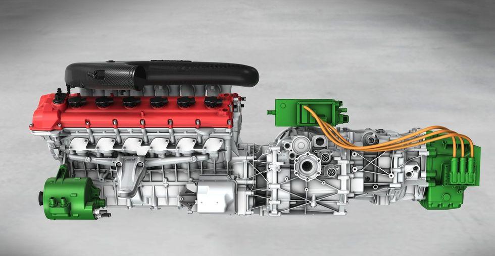 Ferrari Enzo II 2012 hybrid HY-Kers 2012