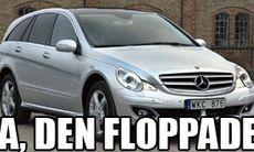 Mercedes erkänner flopp med R-klass