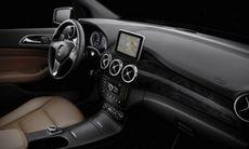 Läckta bilder på nya Mercedes B-klass