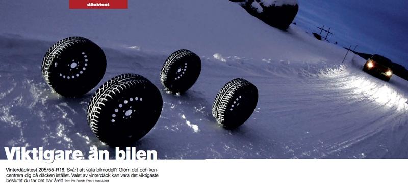 Vinterdäck: Viktigare än bilen!