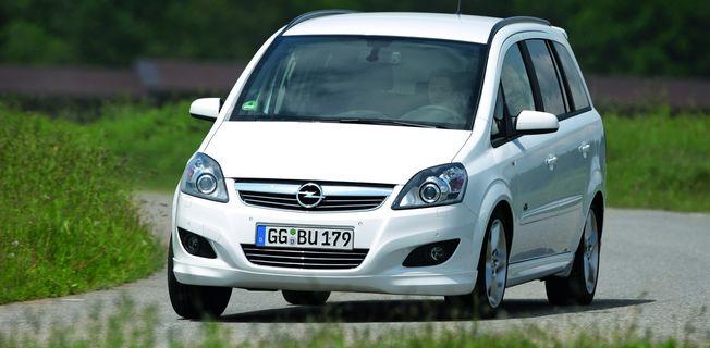 Opel Zafira 1.6 CNG (2011-)