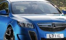 Vauxhall Insignia SuperSport prisdumpas